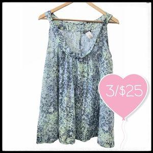 ⭐3/$25⭐ Mandee Floral Sleeveless Blouse
